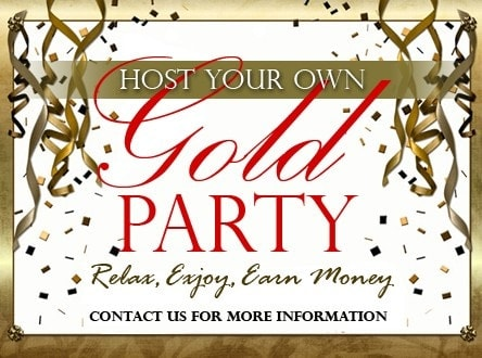 Host Gold Party and Sell Your Gold
