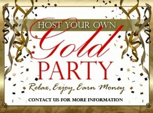 Houston Host Gold Party