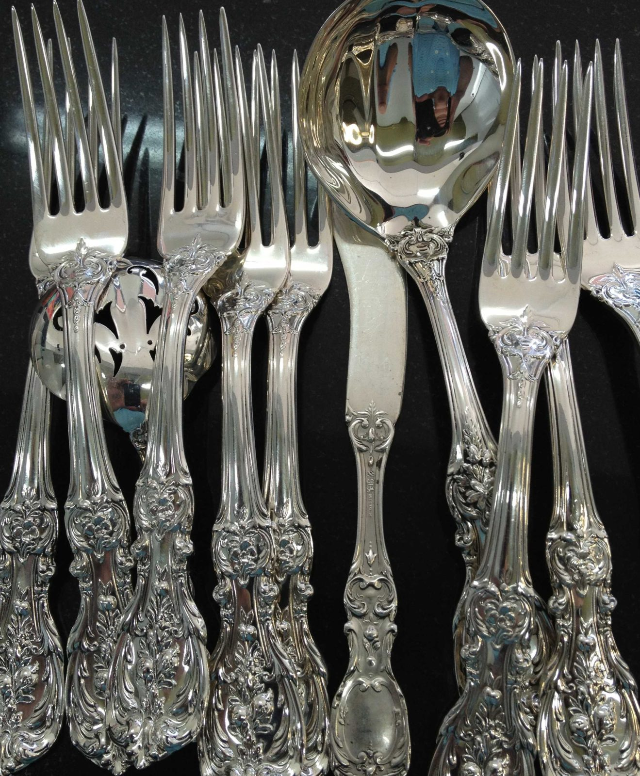 how do you know you have real silver silverware