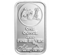 One Troy Ounce Silver Bar
